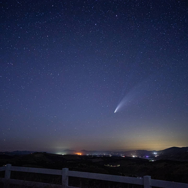 Comet-Neowise paso robles