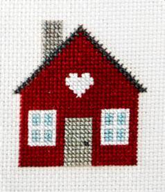 Cross Stitch House.'