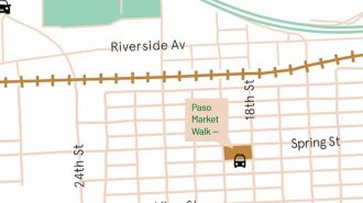 Paso Market Walk to open to the public Aug. 1