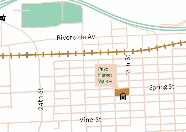 Paso Market Walk to open to the public Aug. 1