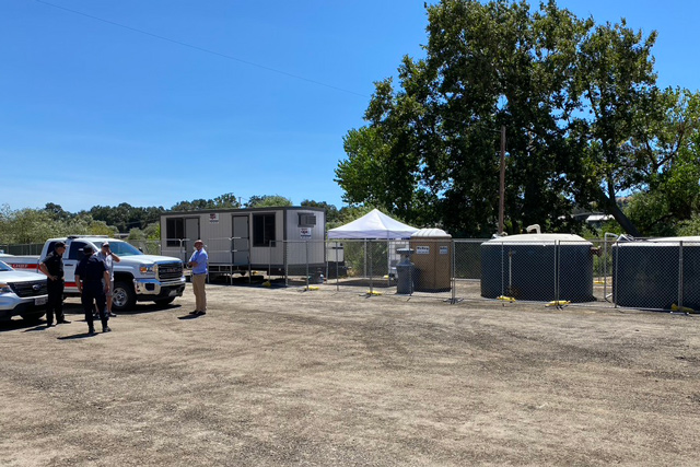 Tent city for homeless in paso robles