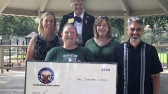 Atascadero Elks Lodge donates to Templeton Recreation Department