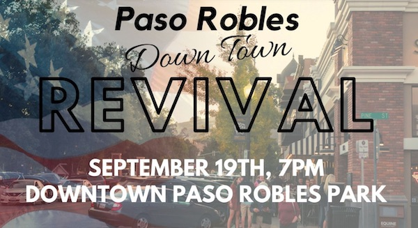 'Downtown Revival' event planned in Paso Robles Saturday