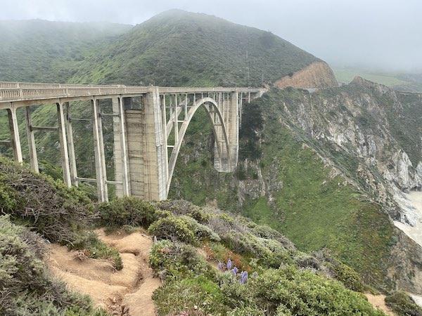 highway 1 in big sur bridge