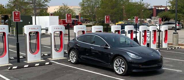 Tesla Supercharger paso robles