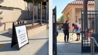 COVID-19 testing begins at Paso Robles High School for teachers, employees