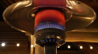 city heater and canopy use