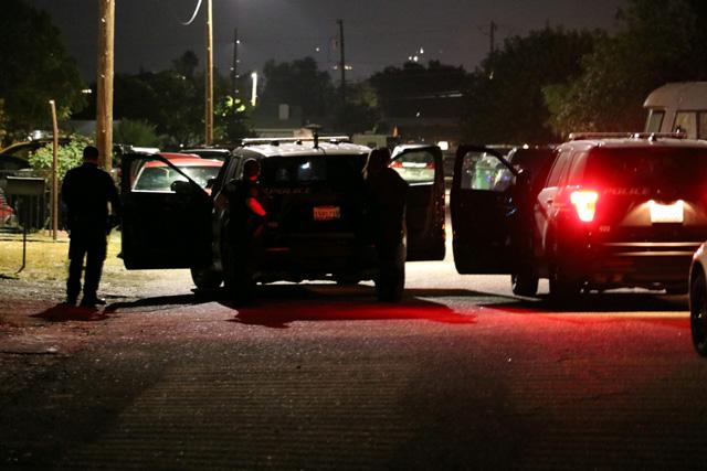 Police at Santa Cruz Avenue paso robles ca