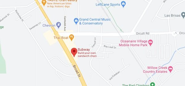 Second Subway location in San Luis Obispo robbed at gunpoint