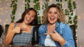 Two Templeton students create 'Voices from the Nest' podcast