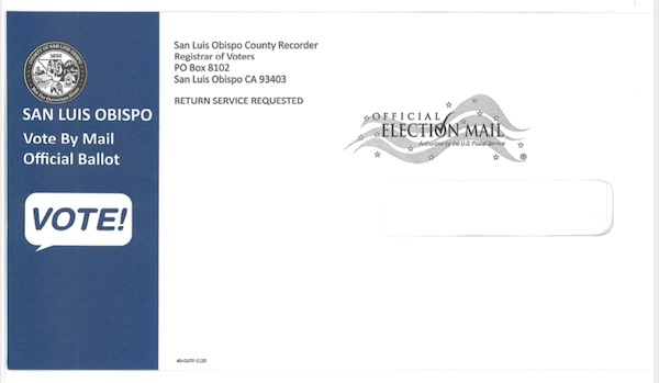 Vote by mail ballots are in the mail