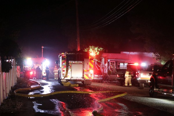 Firefighters contain structure fire ignited by oven