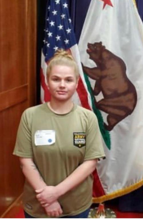 Sarah Weir is heading to basic training.