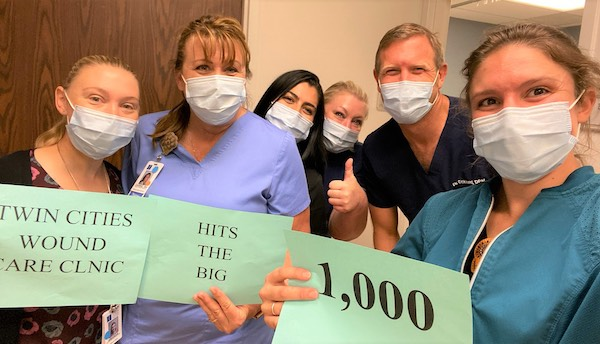 Twin Cities' wound care clinic reaches 1000 patients served