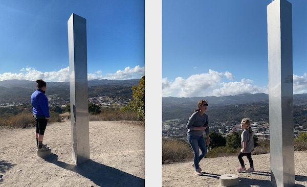 Monolith in Atascadero continues to attract crowds