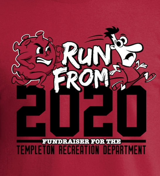 'Run From 2020' virtual 5k to raise money for Templeton Recreation Department