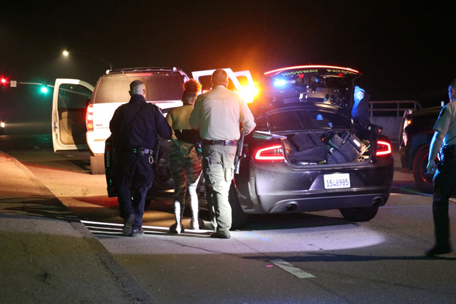 high speed chase paso robles on saturday
