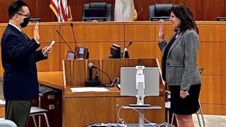 Debbie Arnold sworn in for third term