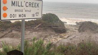 Highway 1 closure on Big Sur Coast