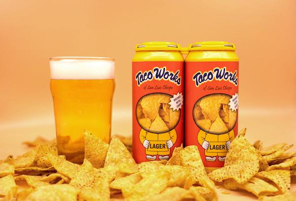 Taco Works and Tio Rodrigo team up to create tortilla chip beer