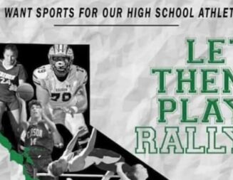 Rally at Templeton High School today calls for return of school sports
