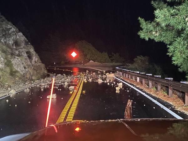 storm damage central coast