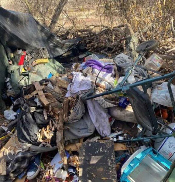 trash cleanup paso robles riverbed