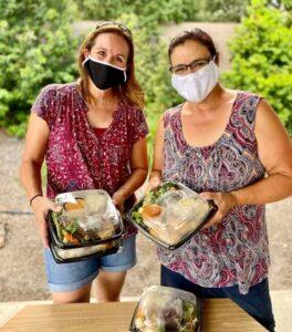 homeless shelter meals program volunteers