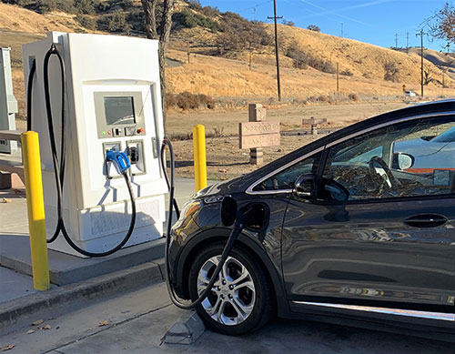 Fast EV chargers now available along highways in Central California - Paso  Robles Daily News