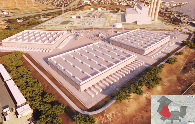 World's largest utility-scale battery storage facility
