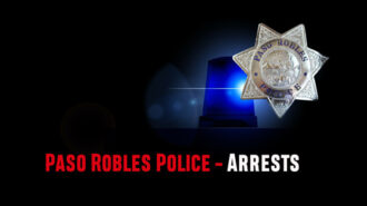 red light round up of paso robles arrests