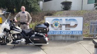 San Luis Obispo County now has motorcycle CHP officers