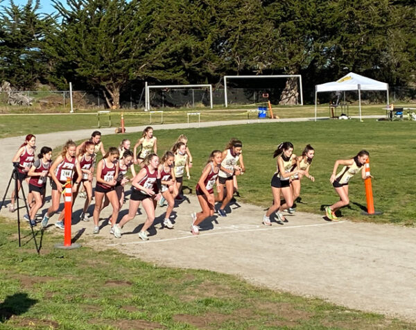 Bearcat cross country teams run against San Luis Obispo Tigers in Los Osos