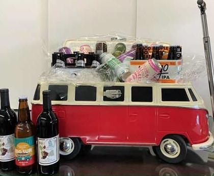 Win a VW bus cooler through Main Street fundraiser