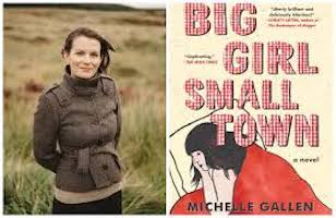 author and book cover big girl small town