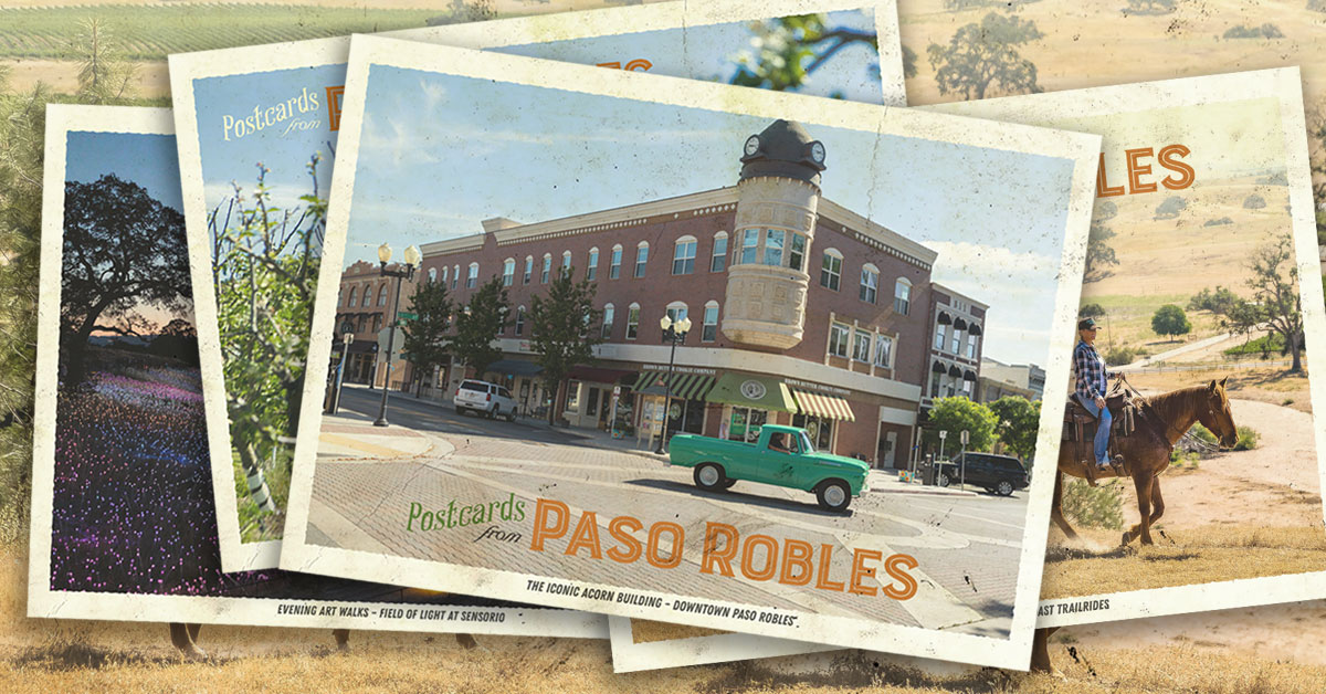 TravelPaso postcards paso robles