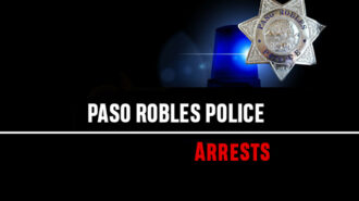 paso robles police arrests
