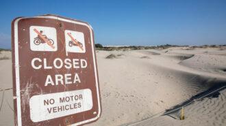 Coastal Commission closes oceano dunes