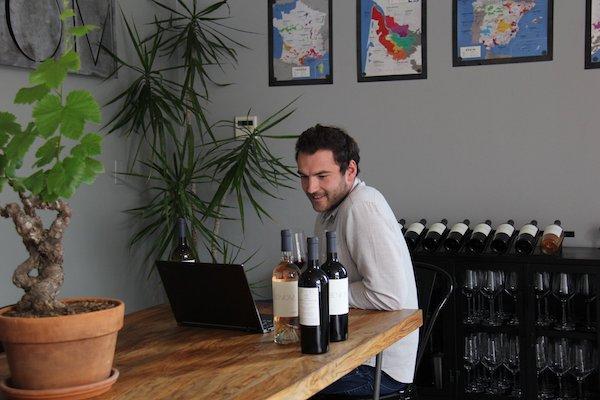 Arnaud of Benom wines