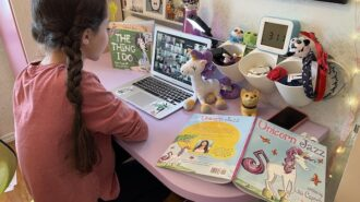 Author and child actor bring 'Unicorn Jazz' to Virginia Peterson