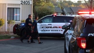 Domestic violence call ends in arrest in Paso Robles