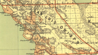 SLO County Map