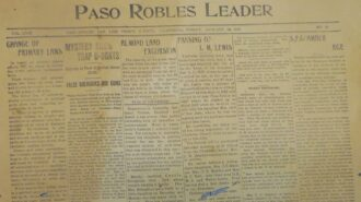 Looking Back Paso Robles 1919