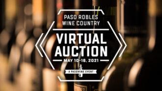 Paso Robles Wine Country Alliance announces virtual auction