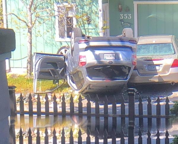 Rollover collision reported in Cambria