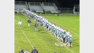 St. Joseph Knights beat the Bearcats 44-0