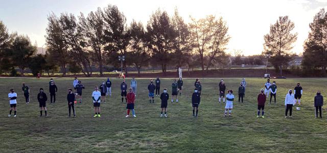 Templeton High School Boys Soccer Team