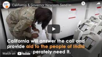 California sends India COVID-19 supplies to combat outbreak