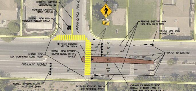 City receives grant for crosswalk upgrades at Appaloosa and Niblick