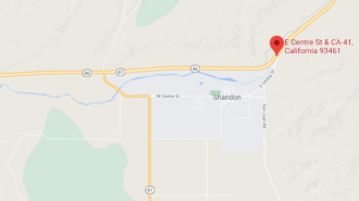 Collision reported at highway intersection in Shandon